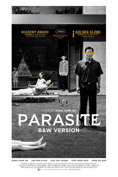 Parasite (Black & White Version)
